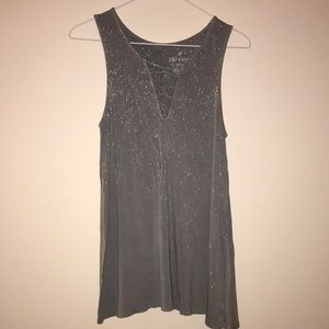 Distressed American Eagle Soft and Sexy Tank